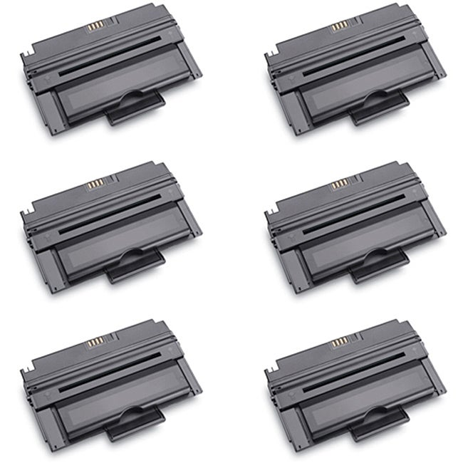 Dell 330-2209 Compatible High Yield Black Toner Cartridges (Pack of 6)