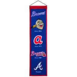 Atlanta Braves Wool Heritage Banner - Thumbnail 2
