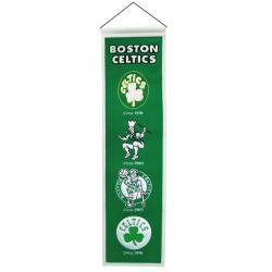 Boston Celtics Wool Heritage Banner