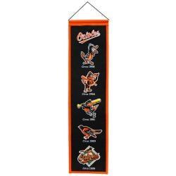 Baltimore Orioles Wool Heritage Banner - Thumbnail 1