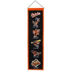 Baltimore Orioles Wool Heritage Banner - Thumbnail 2