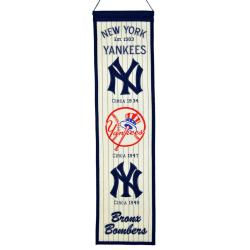 New York Yankees Wool Heritage Banner