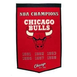 Chicago Bulls NBA Dynasty Banner - Thumbnail 1