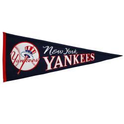 New York Yankees Cooperstown Wool Pennant - Thumbnail 0