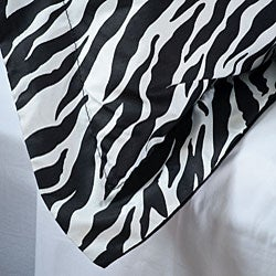 Zebra King-size 3-piece Comforter Set