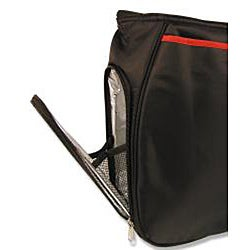 Trend Lab Black/ Red Ultimate Diaper Bag - Thumbnail 1
