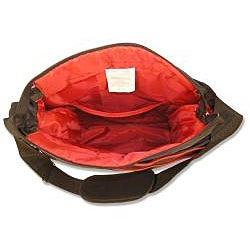 Trend Lab Black/ Red Ultimate Diaper Bag - Thumbnail 2