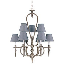 Coventry 9-light Classic Pewter Chandelier