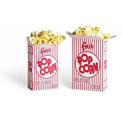Movie Theater 0.75-oz Popcorn Boxes (Case of 50) - Thumbnail 2