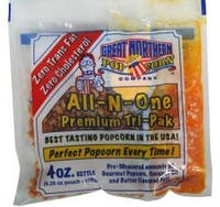 Great Northern 4-ounce Popcorn Portion Packs (Case of 24)