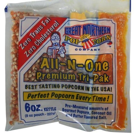 Great Northern 6-ounce Popcorn Portion Packs (Case of 24)