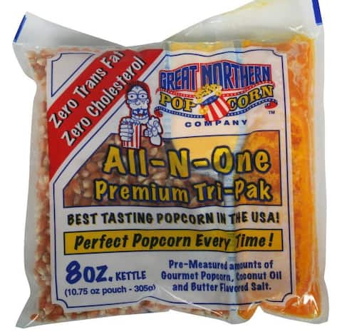Great Northern 8 oz. Popcorn Portion Packs (Case of 24)