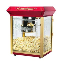Princeton 6045 Red 8-oz Bar Style Antique Popcorn Machine