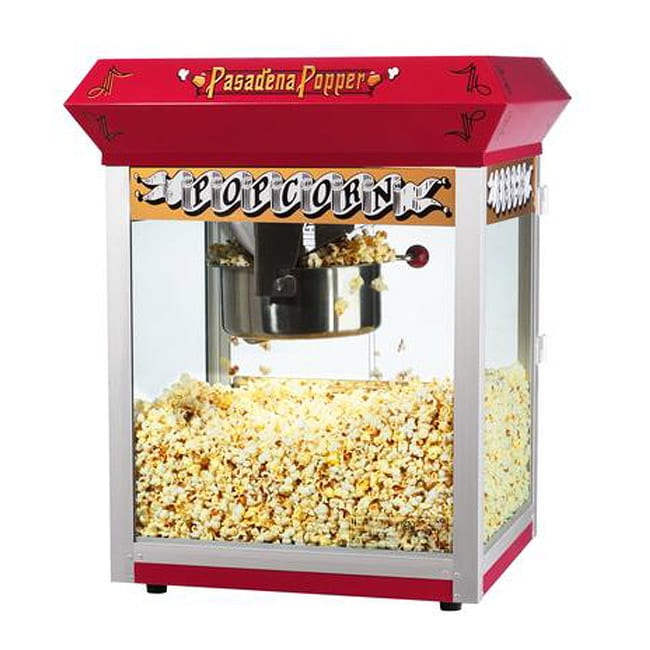 Pasadena 6055 Red 8-oz Bar Style Antique Popcorn Machine