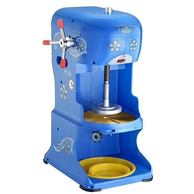 Great Northern Ice Cub Shaved Ice Machine, Blue (Metal)