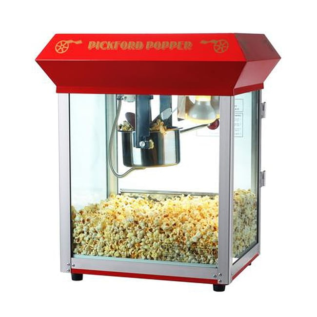 Red Pickford 6080 4-oz Bar Style Popcorn Machine - Thumbnail 0