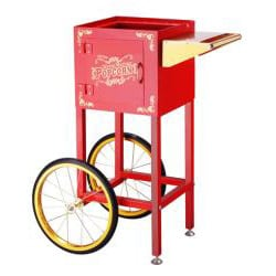 Red 6086 Matinee Movie 8-oz Antique Popcorn Machine and Cart - Thumbnail 1