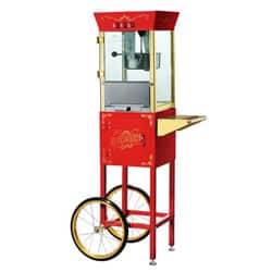 Red 6086 Matinee Movie 8-oz Antique Popcorn Machine and Cart|https://ak1.ostkcdn.com/images/products/5620094/Red-6086-Matinee-Movie-8-oz-Antique-Popcorn-Machine-and-Cart-P13378543.jpg?impolicy=medium