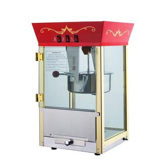 Red 6091 Matinee Movie 8-ounce Antique Popcorn Machine|https://ak1.ostkcdn.com/images/products/5620095/P13378544.jpg?impolicy=medium