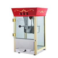 Red 6091 Matinee Movie 8-ounce Antique Popcorn Machine