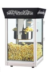Black Matinee Movie 8-oz Antique Popcorn Machine - Thumbnail 2
