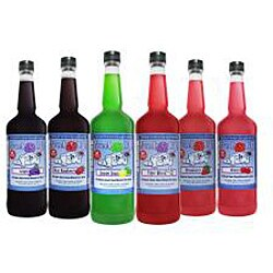 Sweet Life Premium 1-quart Blue Raspberry Snow Cone/ Shaved Ice Syrup