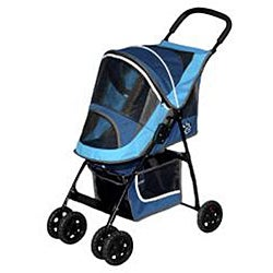 Pet Gear Sport Waterproof Tray Pet Stroller (Up to 20 pounds) - Thumbnail 1