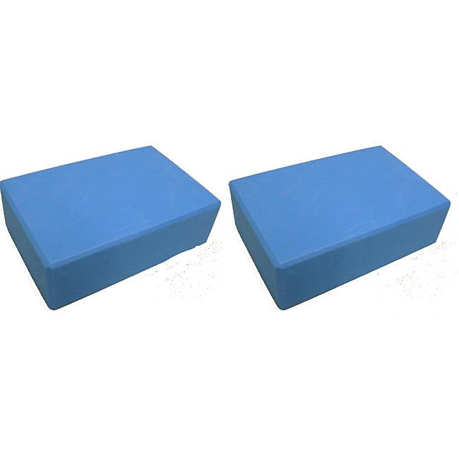 Yoga Saver Pack Slip-Resistant EVA Foam Blocks (Pack of Two)