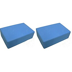 Yoga Saver Pack Slip-Resistant EVA Foam Blocks (Pack of Two)