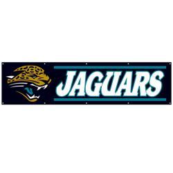 Jacksonville Jaguars 8-foot Nylon Banner