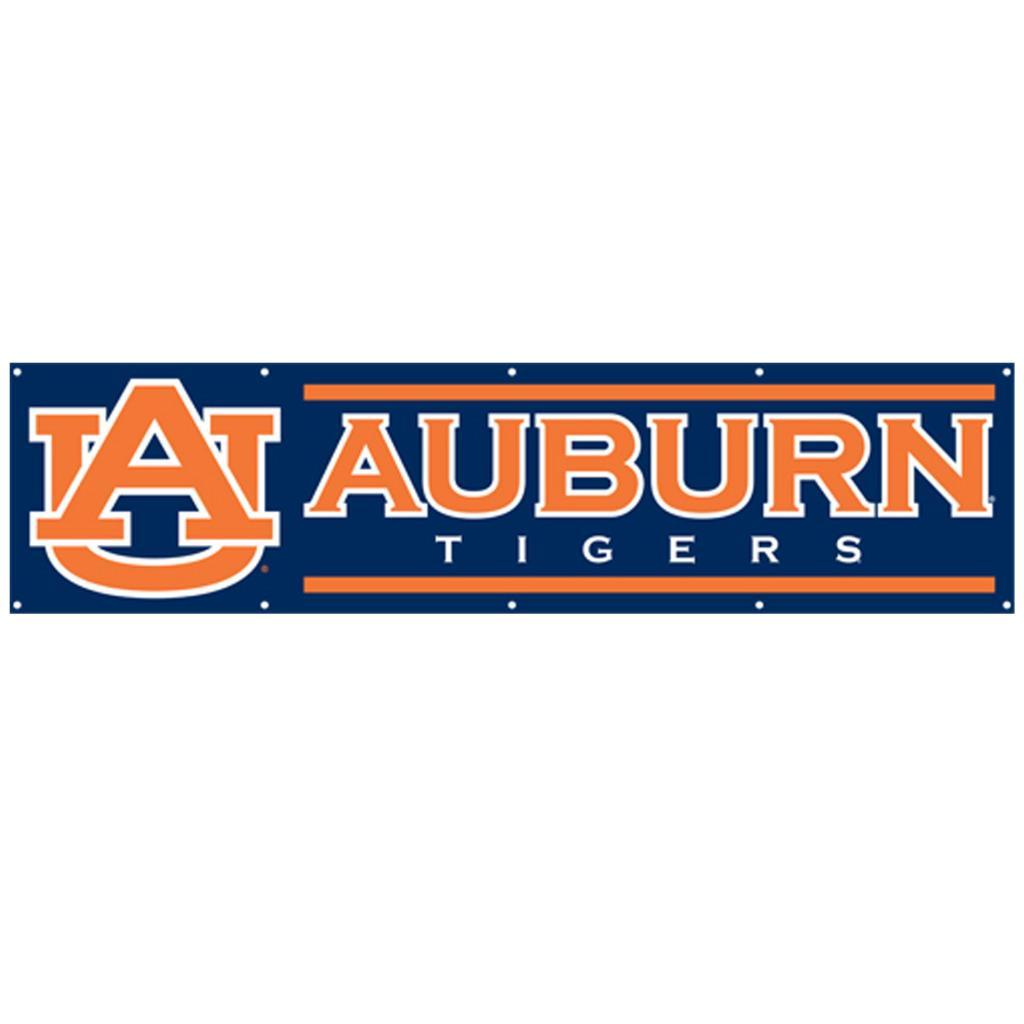 Auburn Tigers 8-foot Nylon Banner