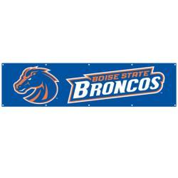 Boise State Broncos 8-foot Nylon Banner - Thumbnail 1