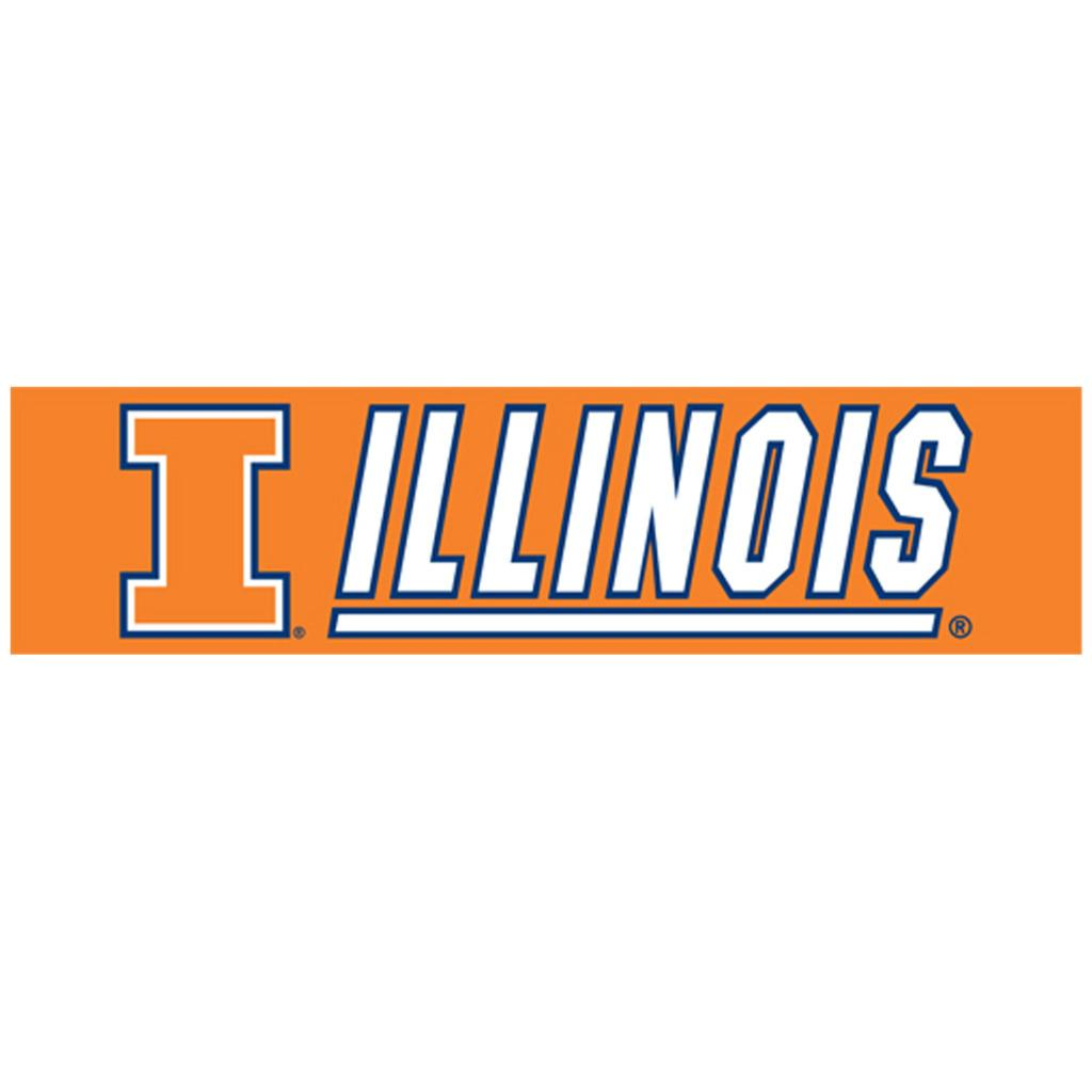 Illinois Fighting Illini 8-foot Nylon Banner