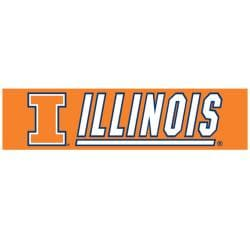 Illinois Fighting Illini 8-foot Nylon Banner - Thumbnail 1