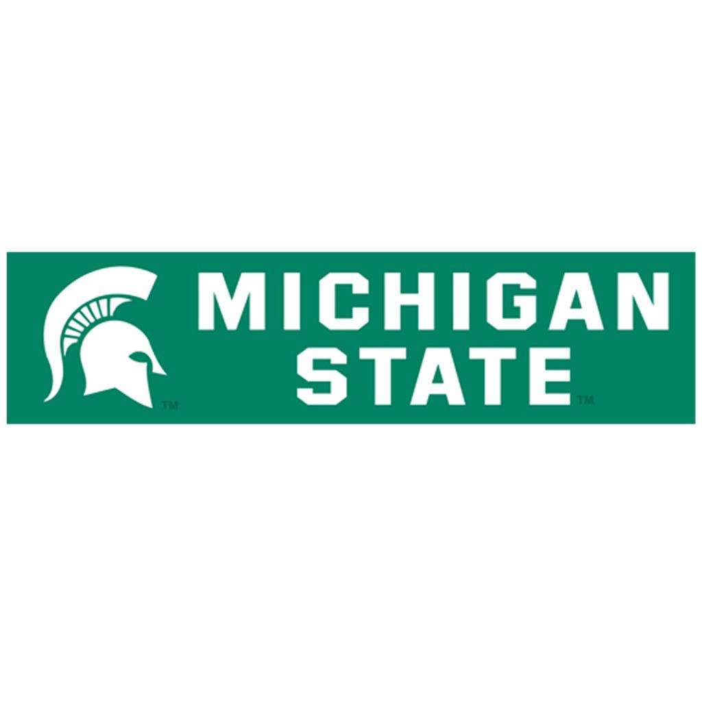 Michigan State Spartans 8-foot Nylon Banner