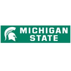 Michigan State Spartans 8-foot Nylon Banner - Thumbnail 1