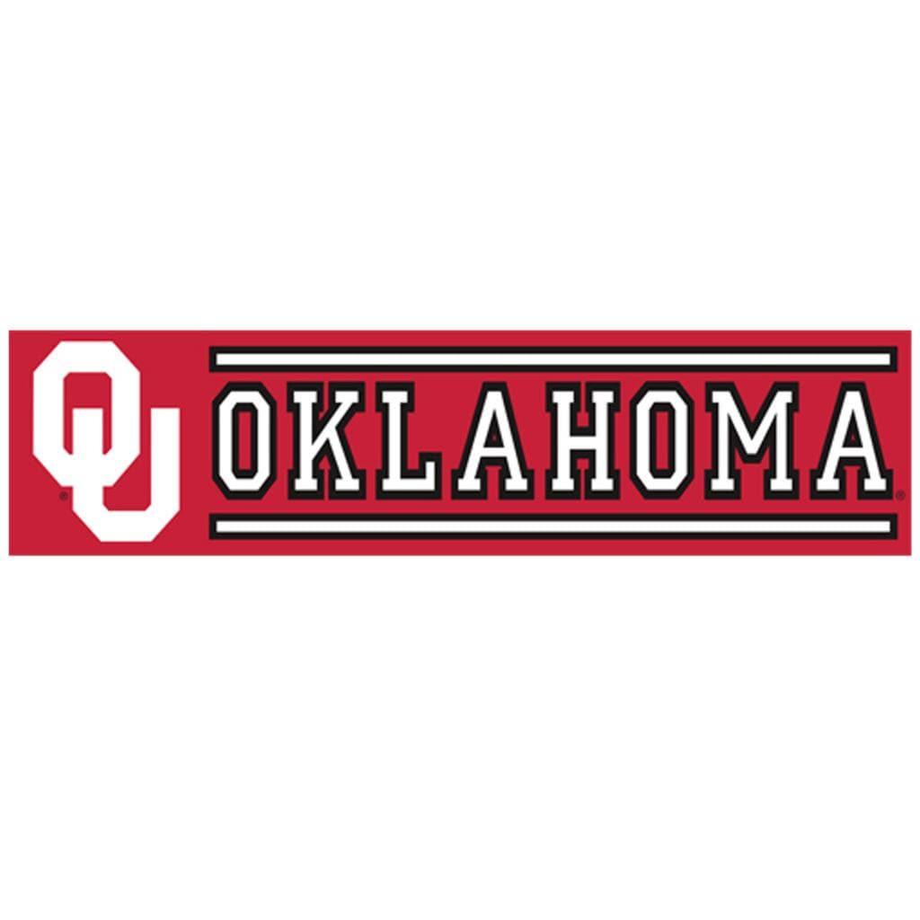 Oklahoma Sooners 8-foot Nylon Banner