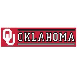 Oklahoma Sooners 8-foot Nylon Banner - Thumbnail 1