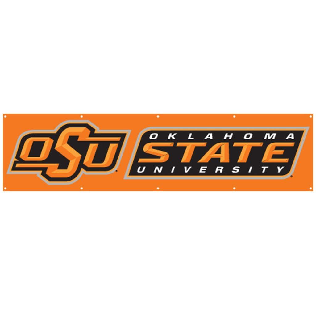 Oklahoma State Cowboys 8-foot Nylon Banner