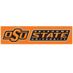 Oklahoma State Cowboys 8-foot Nylon Banner - Thumbnail 2