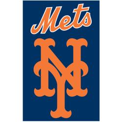 New York Mets Nylon Banner Flag - Thumbnail 1