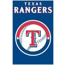 Texas Rangers Nylon Banner Flag - Thumbnail 2