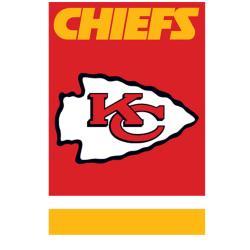 Kansas City Chiefs Nylon Banner Flag - Thumbnail 0