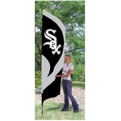 Chicago White Sox Tall Nylon Team Flag