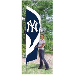 New York Yankees Tall Nylon Team Flag - Thumbnail 2