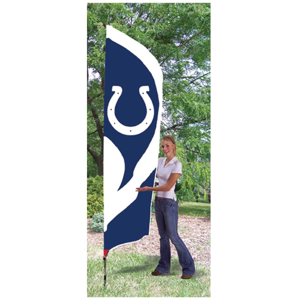 Indianapolis Colts Tall Nylon Team Flag