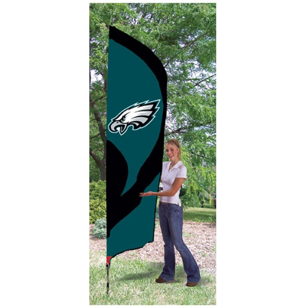 Philadelphia Eagles Tall Nylon Team Flag