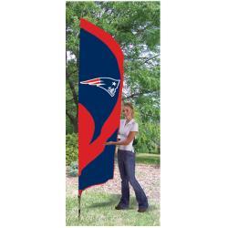 New England Patriots Tall Nylon Team Flag - Thumbnail 0