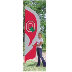Ohio State Buckeyes Tall Nylon Team Flag - Thumbnail 2
