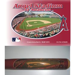 Anaheim Angels 34-inch Stadium Bat - Thumbnail 1